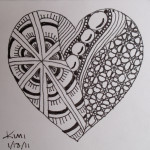 Zentangles are patterns that go beyond simple polka dots and checkerboards.